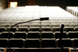 empty audience