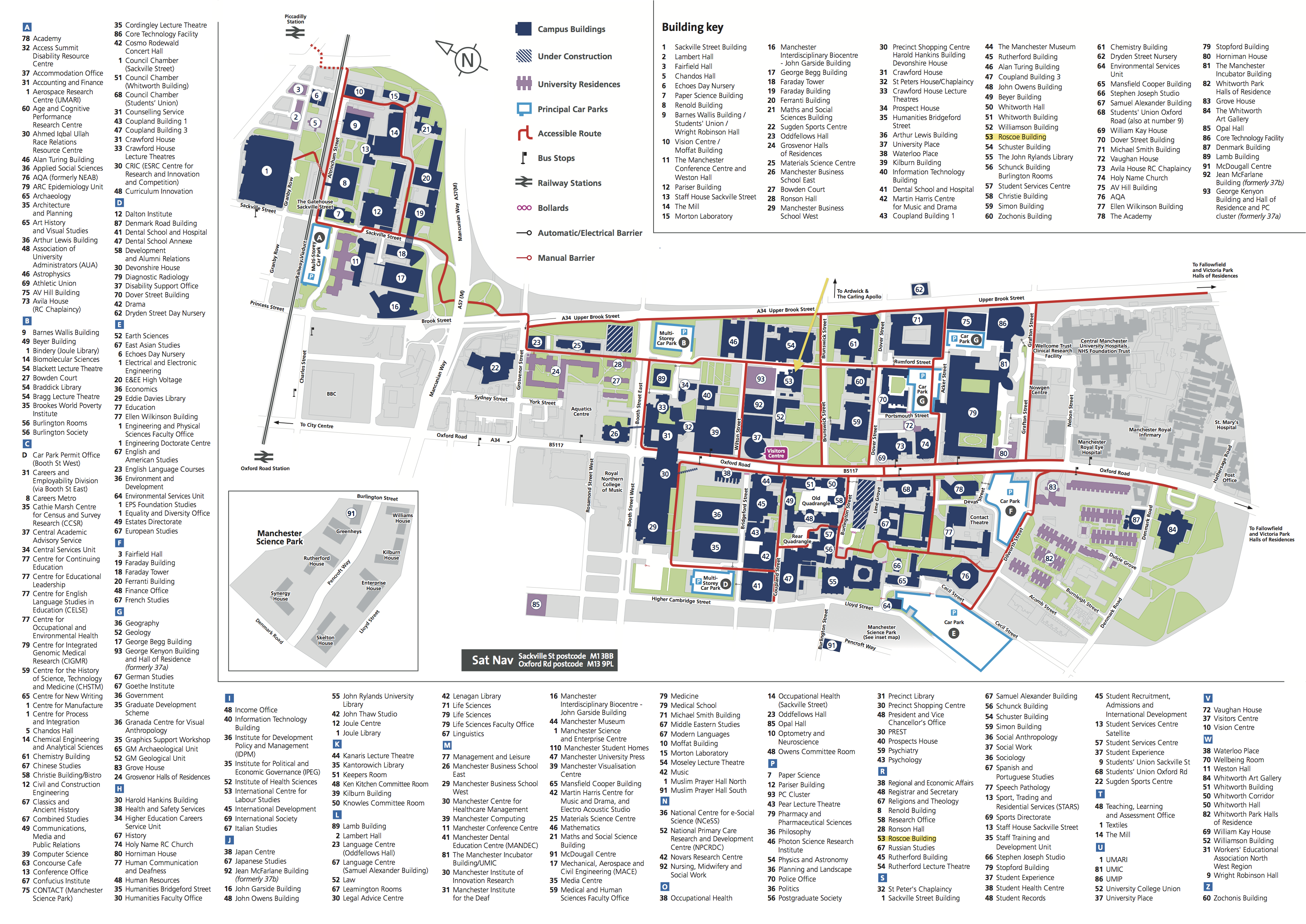 University Of Manchester Map Conference venue MAP | Postgraduate Researcher Blog