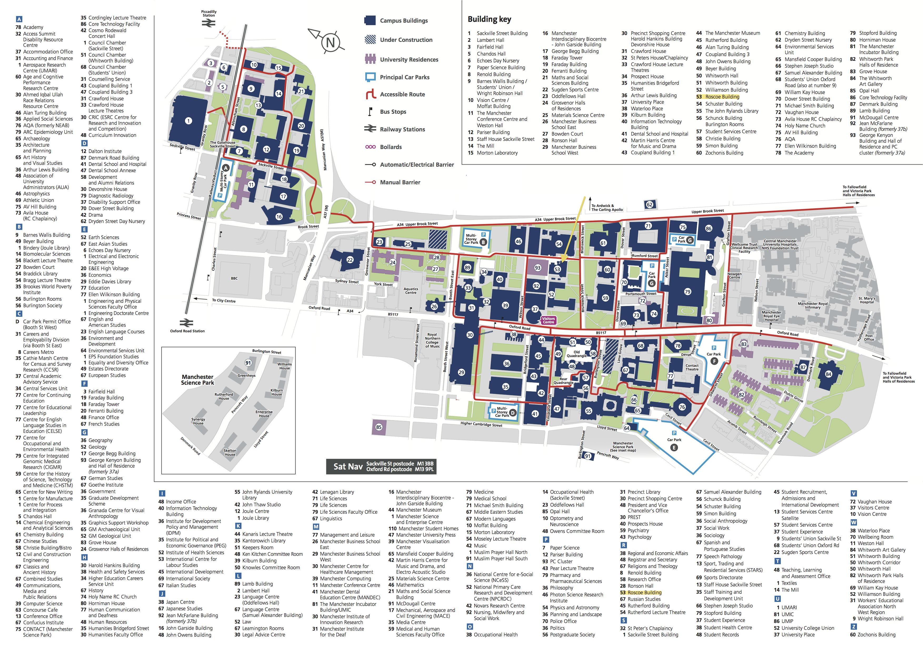 Manchester University Map Conference venue MAP | Postgraduate Researcher Blog